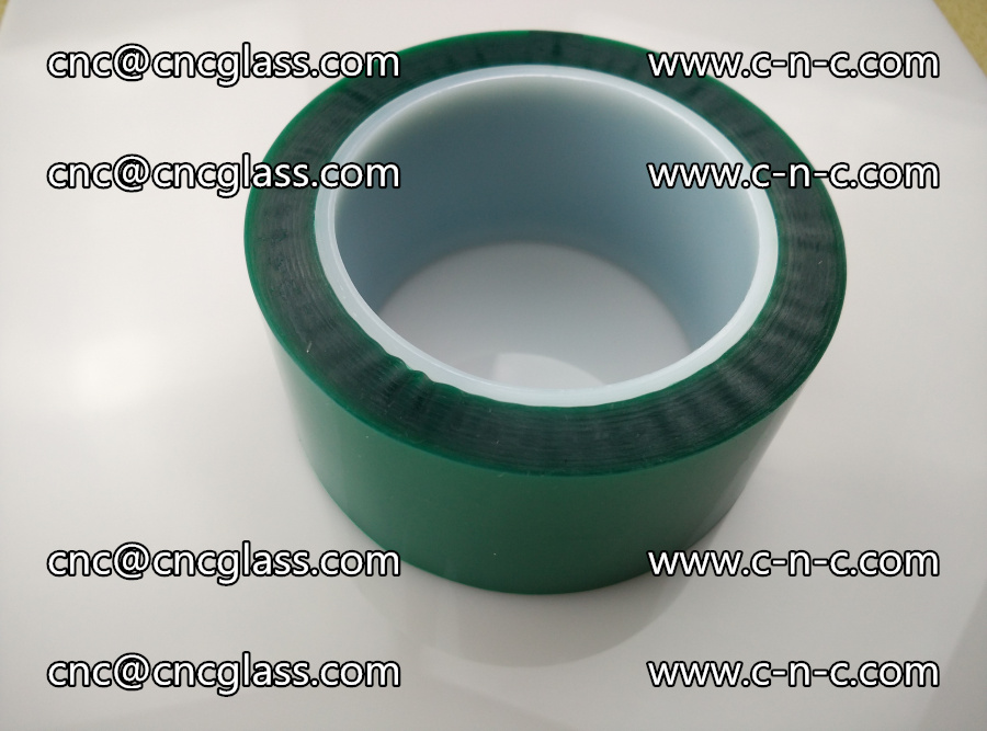 PET GREEN TAPE for laminated glass safety glazing (33)