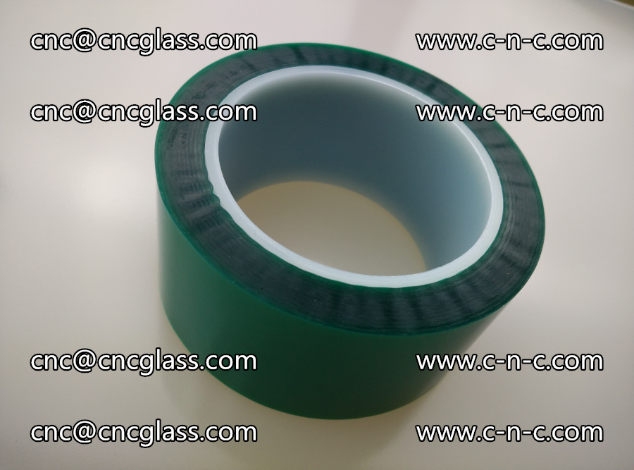 PET GREEN TAPE for laminated glass safety glazing (5)