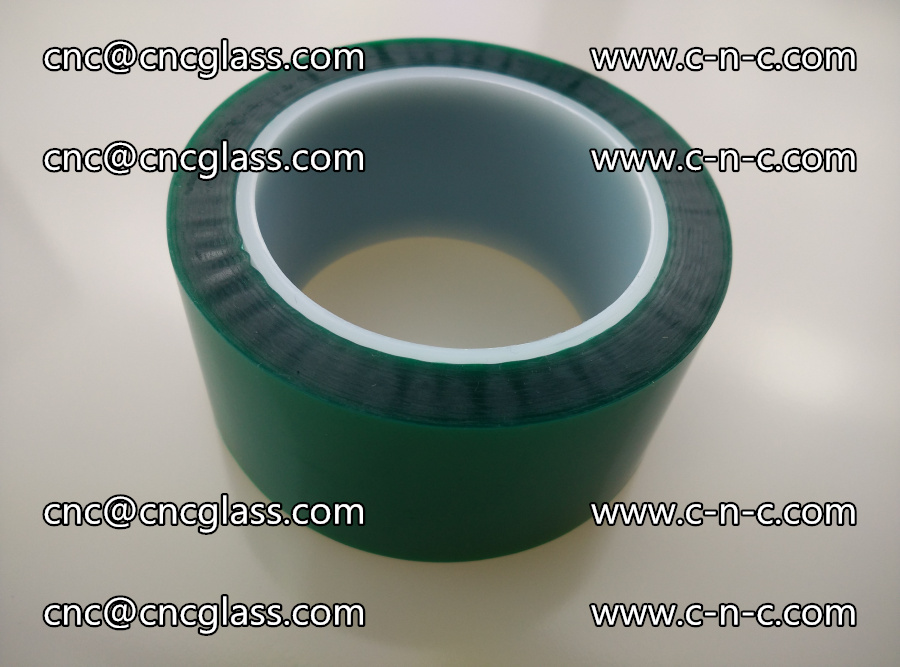 PET GREEN TAPE for laminated glass safety glazing (7)