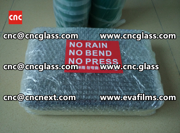 HEATING HOT KNIFE TRIMMING LAMINATED GLASS INTERLAYER REMAINS (3)