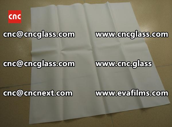 Laminated safety glass EVA-based densely cross-linked interlayer (16)