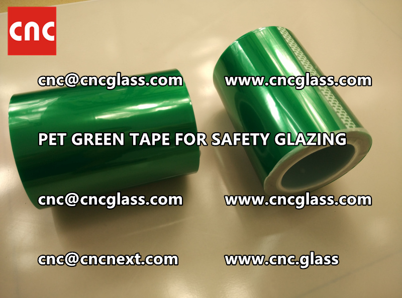 PET GREEN TAPE for eva film laminationglazing (2)