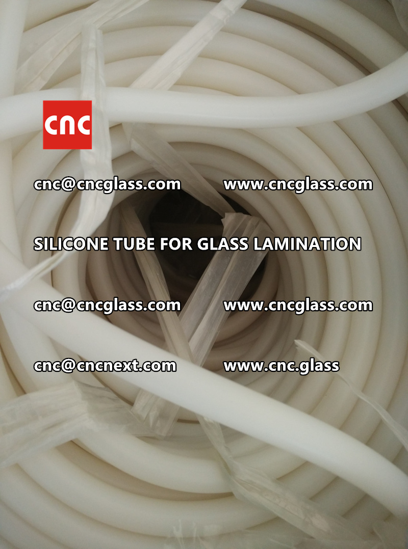 SILICONE TUBE for safety glass lamination vacuuming  (11)