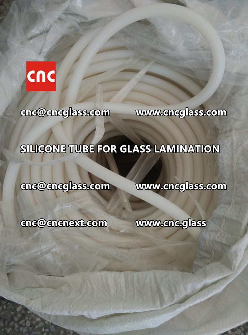 SILICONE TUBE for safety glass lamination vacuuming  (5)