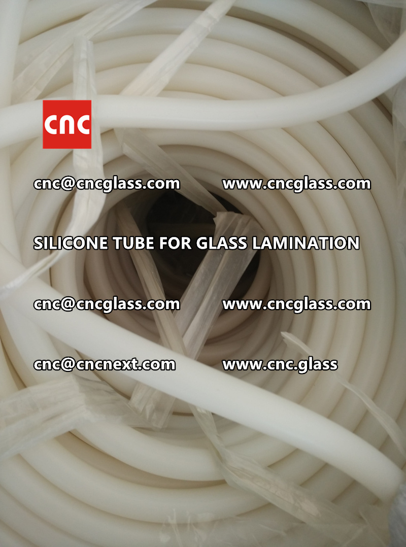SILICONE TUBE for safety glass lamination vacuuming  (9)