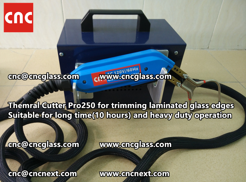 HEATING KNIFE HOT KNIFE THERMAL CUTTER for cleaning laminated glass edges EVA (104)
