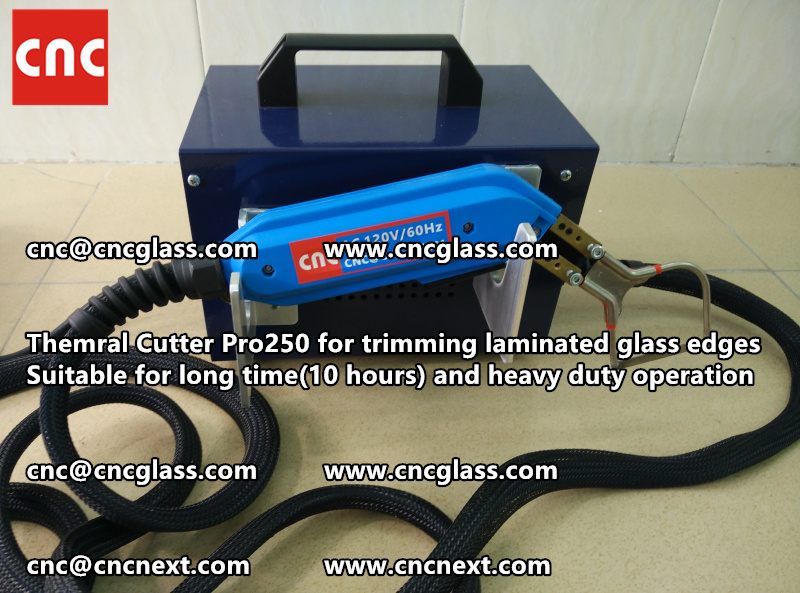 HEATING KNIFE HOT KNIFE THERMAL CUTTER for cleaning laminated glass edges EVA (105)