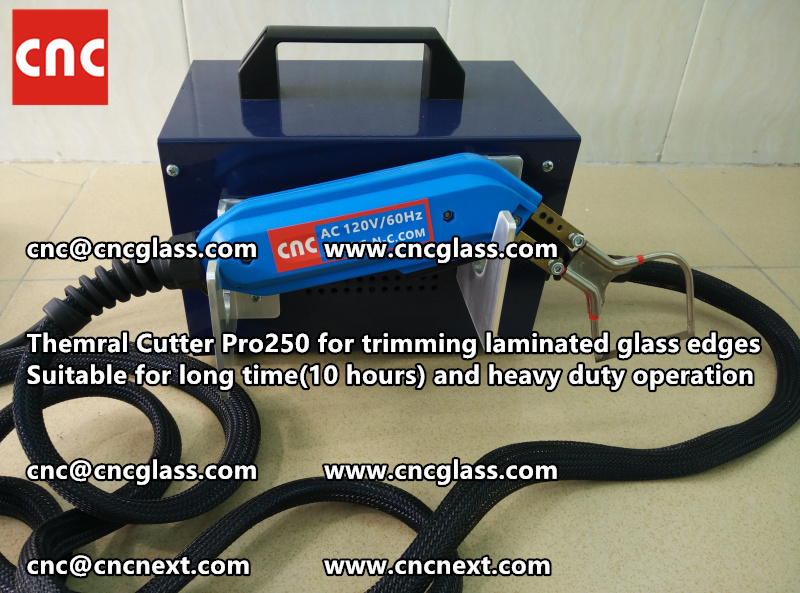 HEATING KNIFE HOT KNIFE THERMAL CUTTER for cleaning laminated glass edges EVA (107)