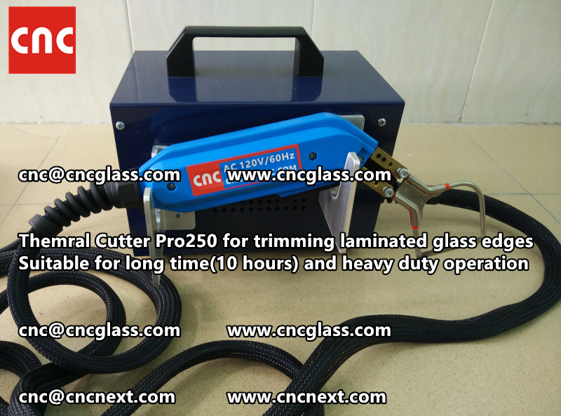 HEATING KNIFE HOT KNIFE THERMAL CUTTER for cleaning laminated glass edges EVA (108)