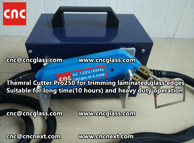 HEATING KNIFE HOT KNIFE THERMAL CUTTER for cleaning laminated glass edges EVA (17)