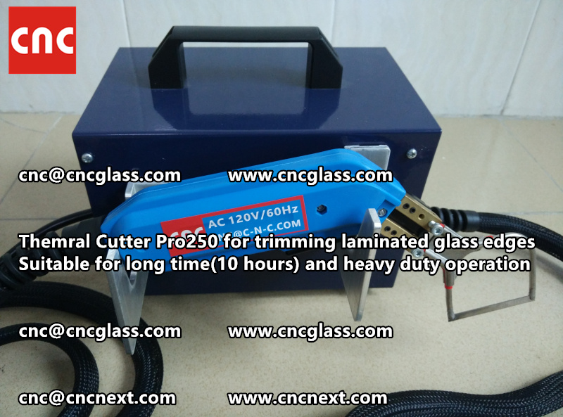 HEATING KNIFE HOT KNIFE THERMAL CUTTER for cleaning laminated glass edges EVA (19)