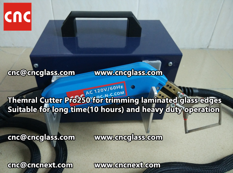 HEATING KNIFE HOT KNIFE THERMAL CUTTER for cleaning laminated glass edges EVA (20)