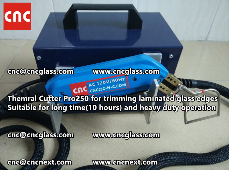 HEATING KNIFE HOT KNIFE THERMAL CUTTER for cleaning laminated glass edges EVA (3)