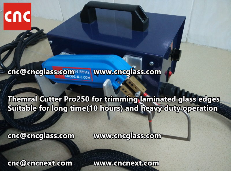 HEATING KNIFE HOT KNIFE THERMAL CUTTER for cleaning laminated glass edges EVA (35)
