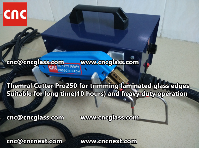 HEATING KNIFE HOT KNIFE THERMAL CUTTER for cleaning laminated glass edges EVA (37)
