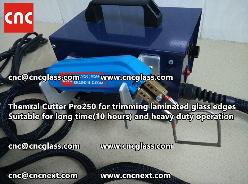 HEATING KNIFE HOT KNIFE THERMAL CUTTER for cleaning laminated glass edges EVA (45)