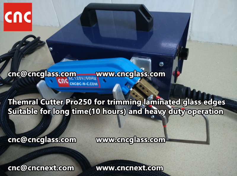 HEATING KNIFE HOT KNIFE THERMAL CUTTER for cleaning laminated glass edges EVA (48)