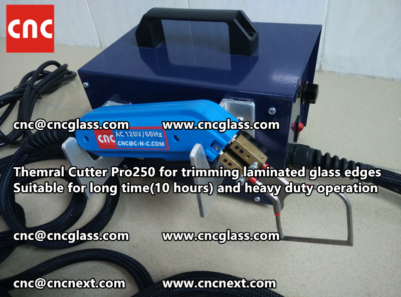 HEATING KNIFE HOT KNIFE THERMAL CUTTER for cleaning laminated glass edges EVA (49)