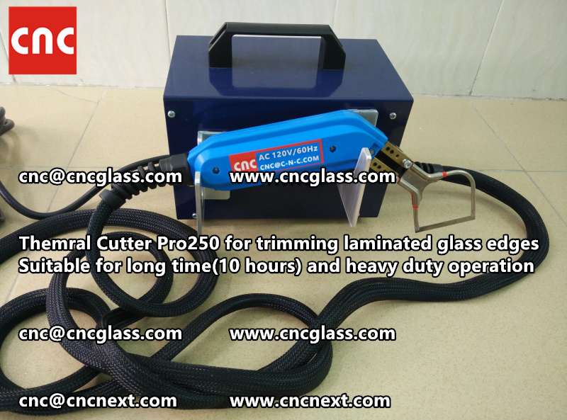 HEATING KNIFE HOT KNIFE THERMAL CUTTER for cleaning laminated glass edges EVA (55)