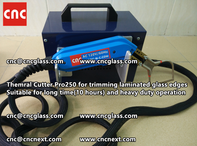 HEATING KNIFE HOT KNIFE THERMAL CUTTER for cleaning laminated glass edges EVA (99)
