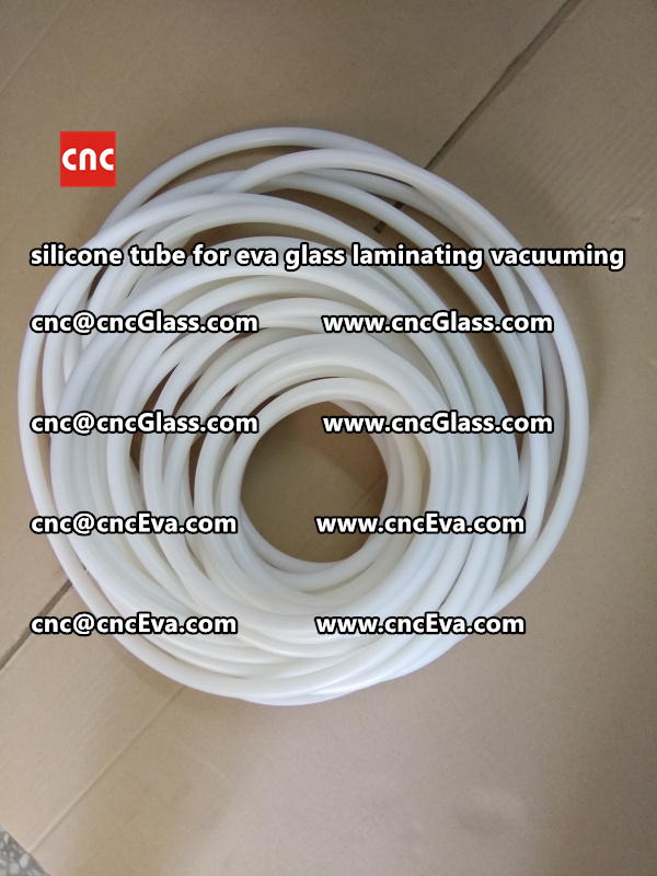 Silicon tube for glass laminating vacuuming  (1)