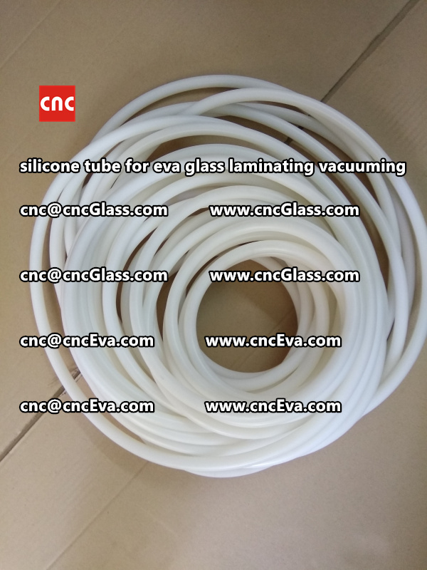 Silicon tube for glass laminating vacuuming  (11)
