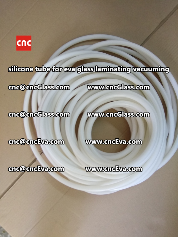 Silicon tube for glass laminating vacuuming  (12)