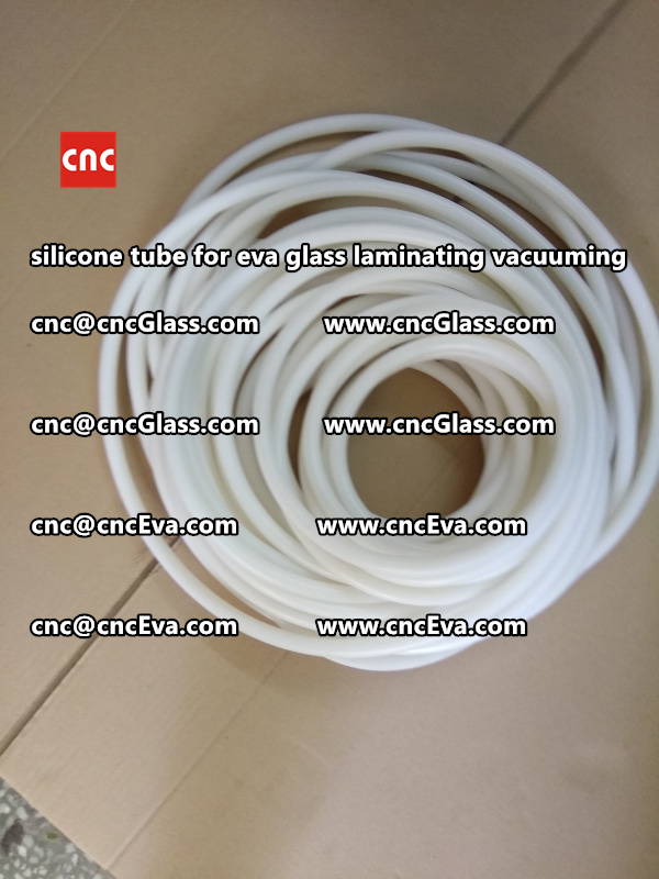 Silicon tube for glass laminating vacuuming  (14)