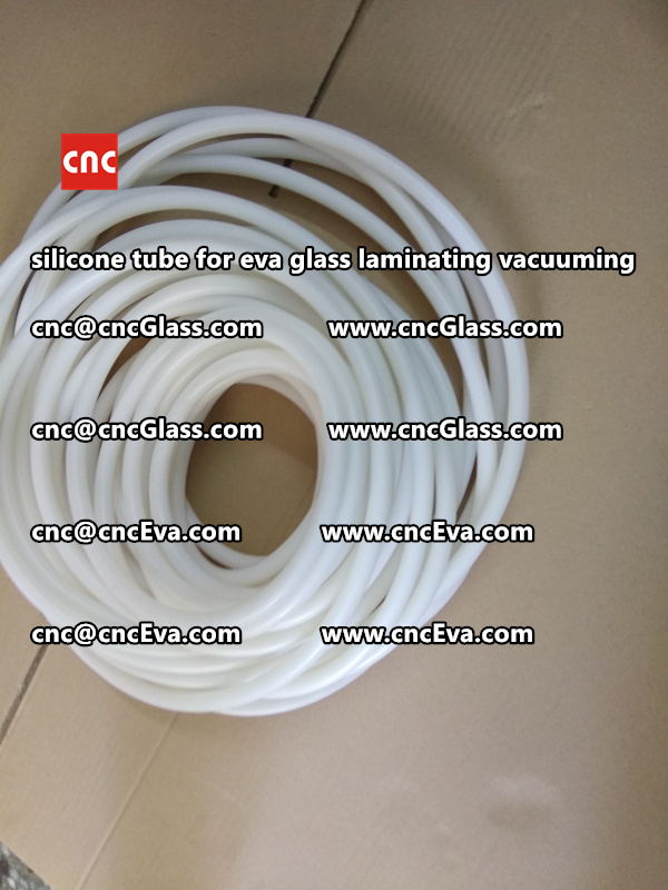 Silicon tube for glass laminating vacuuming  (4)