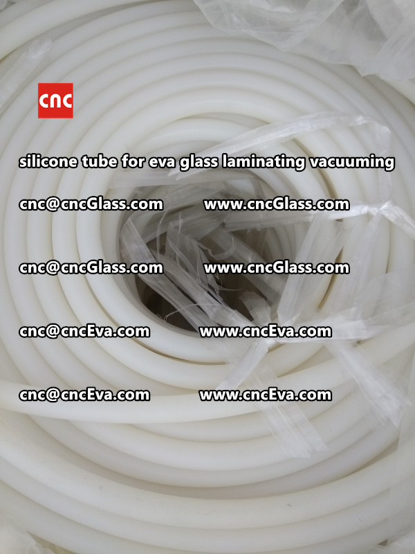 Silicone tube  for vacuum pump laminating eva film interlayer (10)