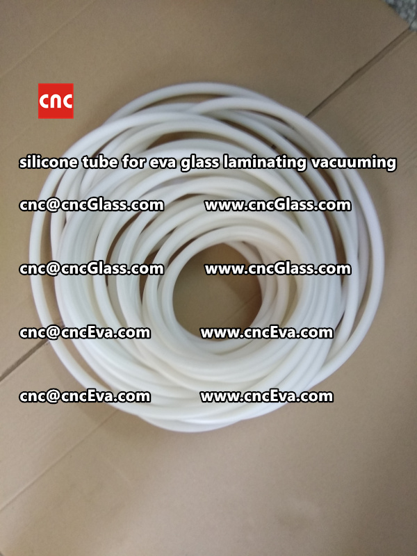 Silicone tube  for vacuum pump laminating eva film interlayer (12)