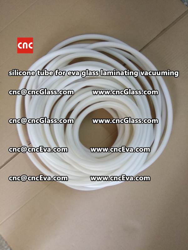 Silicone tube  for vacuum pump laminating eva film interlayer (15)