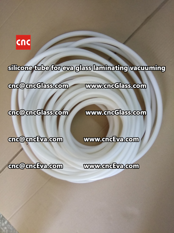 Silicone tube  for vacuum pump laminating eva film interlayer (17)