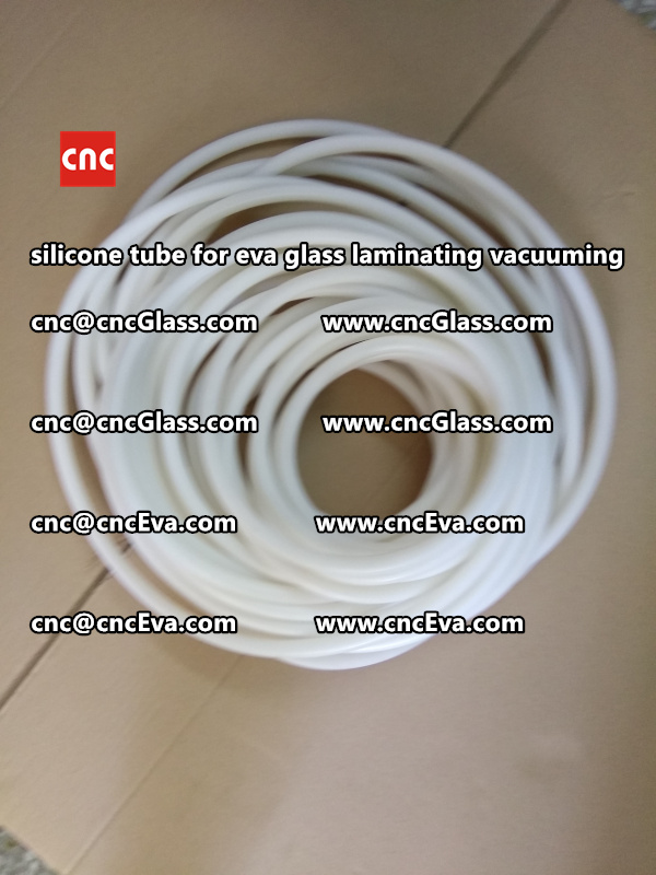 Silicone tube  for vacuum pump laminating eva film interlayer (18)