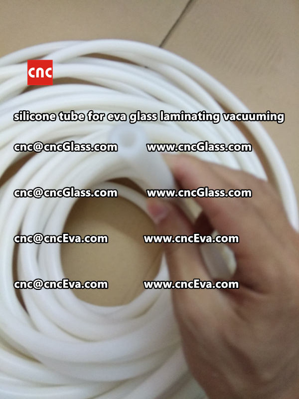 Silicone tube  for vacuum pump laminating eva film interlayer (19)