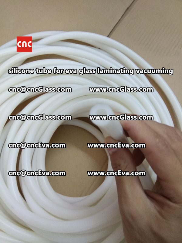 Silicone tube  for vacuum pump laminating eva film interlayer (21)