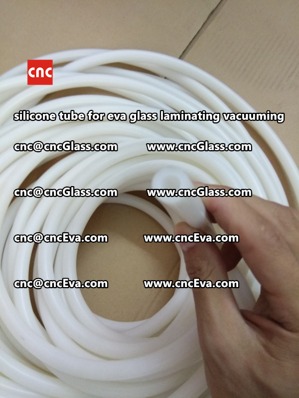 Silicone tube  for vacuum pump laminating eva film interlayer (22)