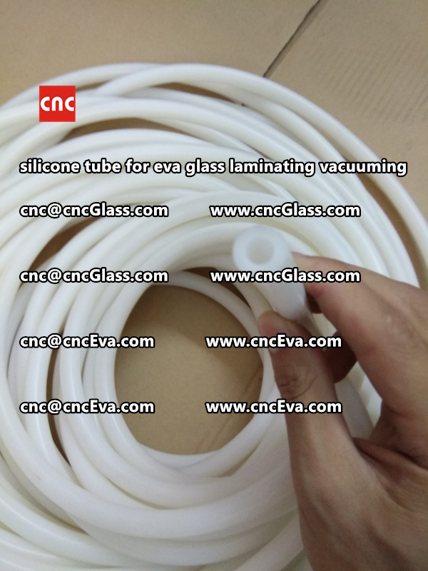 Silicone tube  for vacuum pump laminating eva film interlayer (24)