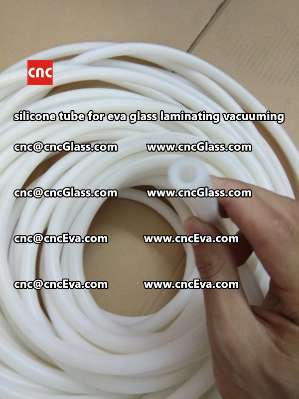 Silicone tube  for vacuum pump laminating eva film interlayer (25)