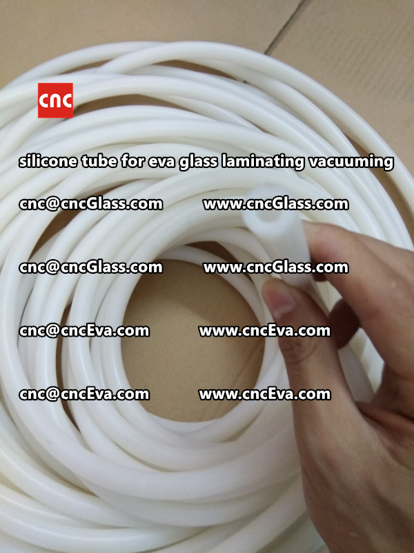 Silicone tube  for vacuum pump laminating eva film interlayer (26)