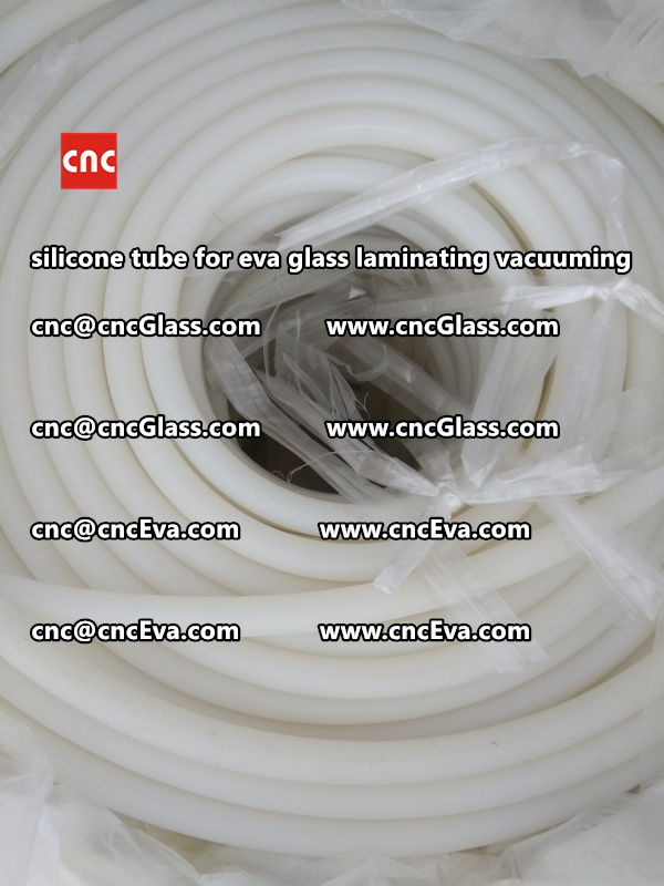 Silicone tube  for vacuum pump laminating eva film interlayer (4)