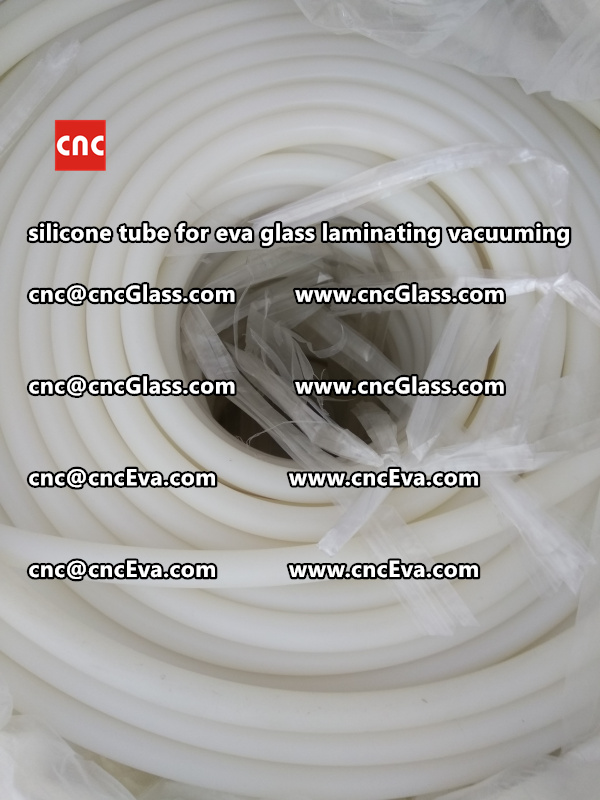 Silicone tube  for vacuum pump laminating eva film interlayer (9)