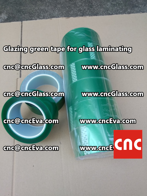 vacuum green tape, for laminating glass (1)