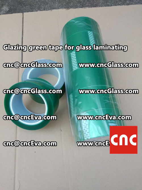 vacuum green tape, for laminating glass (3)