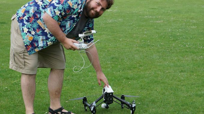 Adam Juniper With DJI Inspire 1