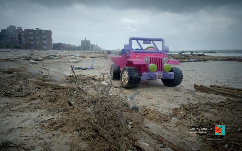 Coney Island after Sandy. © Adrian Kinloch