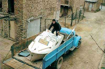 Said boat sul camion