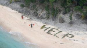 Rescue in pacific Island