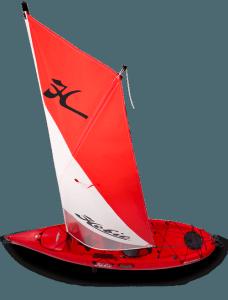 Vela per kayak hobie cat