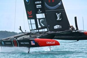 America's cup sail
